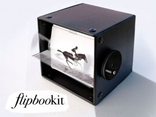 Photo of flipbookit 3rd rev prototype