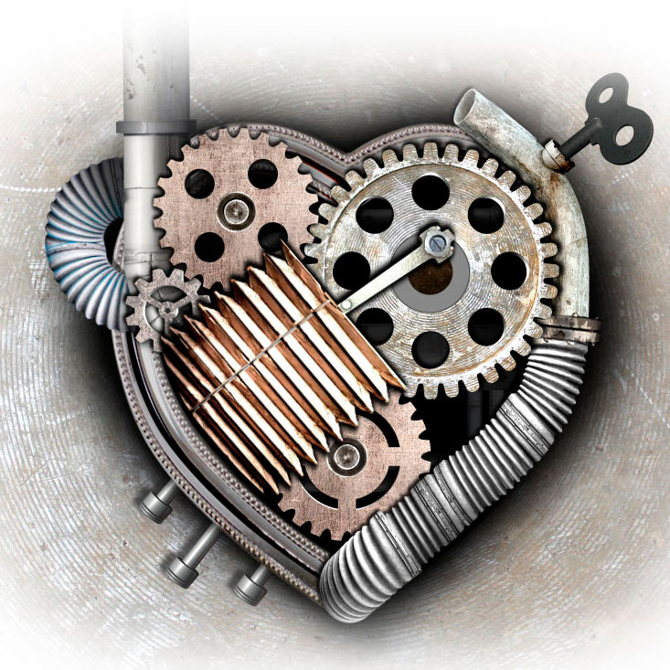 mechanical heart  xray dreams