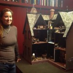 Hope Kroll and her Doll House (in its 10th year of remodeling)